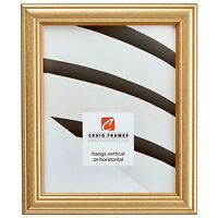 Craig Frames Goldstone, Vintage Gold Hardwood Picture Frame