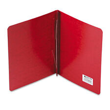 """ACCO Presstex Report Cover, Prong Clip, Letter, 3"""" Capacity, Executive Red"""
