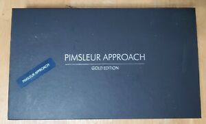 Pimsleur Approach Spainsh 1 ( LEVEL 1 ) Gold Edition 16 CD's 30 Lessons Reading