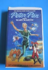 PETER PAN ~ VHS, 1989 ~ MARY MARTIN ~ 30th ANNIVERSARY COLLECTOR'S EDITION