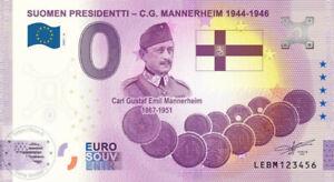 FI - Suomen Presidentti - C.G. Mannerheim 1944-1946 (anniversary) - 2021