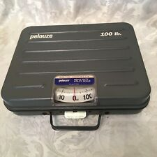 Heavy Duty PELOUZE 100lb Capacity Scale W/Locking & Handle Carrying Features