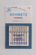 New Lot 10 Schmetz Universal Needles 130/705 H 90/14 80/12 70/10 1789