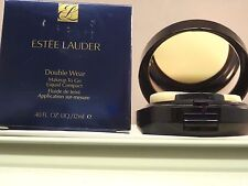 ESTEE LAUDER DOUBLE WEAR MAKEUP TO GO LIQUID COMPACT- ECRU - FULL SIZE - NIB