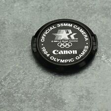 Genuine Canon FD 1984 Olympic Summer Games C 52mm Snap-On Front Lens Cap (#2011)