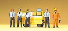 Preiser 10372 H0 Figuren Bahnpersonal RhB