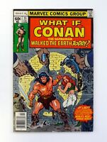 WHAT IF? #13 Marvel Comics Conan Walked The Earth Today FN/VF 1979