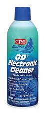 CRC MARINE GRADE QD ELECTRONIC CLEANER PREVENTS CONTACT FAILURE QUICK DRYING