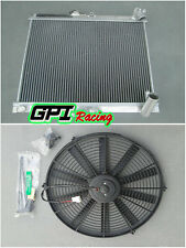 3ROWS for Mazda RX7 RX-7 FC3S series 4 S4 86 87 88 aluminum radiator MT+ FAN