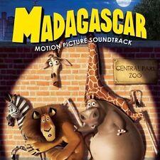 Madagascar Soundtrack 12 track cd , hans zimmer/vangelis/bee gees/james dooley/