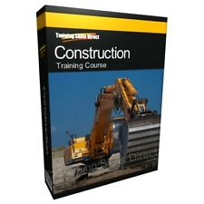 Construction Building DIY Training Manual Book Course on CD