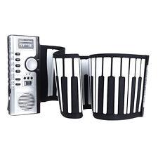 61 Keys Flexible Digital Roll up Soft Portable Electric Keyboard Piano Music
