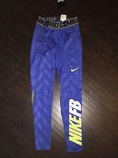Men's Nike Pro Combat Running Football Compression Tight Leggings Large L