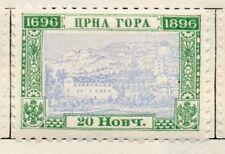 Montenegro 1896 emissione precoce BELLE Nuovo di zecca Hinged 20n. 147354