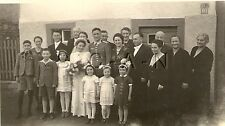 WWII German RP- Soldier- Flower Girls- Family- Wedding Dress- Frau- Bride- 1940s