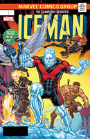 ICEMAN #6 RYAN LENTICULAR VARIANT MARVEL LEGACY COMICS X-MEN