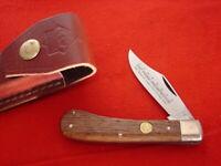 "Puma Made in Germany 3-3/4"" PROSPECTOR Jack Knife & Sheath MINT"