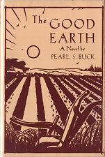 THE GOOD EARTH-PEARL BUCK-1ST/1ST W/DUST JACKET-1931-VERY NICE COPY!