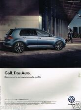 Publicité advertising 2012 VW Volkswagen Golf Carat