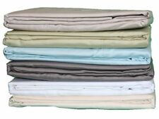 Cotton Blend Patternless Bedding Sheets