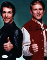 Ron Howard Signed Autographed 8X10 Photo Richie Happy Days w/Fonz Thumbs Up JSA