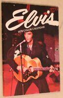 Vintage Elvis Presley 1978 Color Calendar