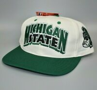 Michigan State Spartans Twins Enterprise Vintage 90's Snapback Cap Hat - NWT