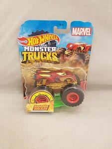 Hot Wheels Monster Truck Diecast Car Marvel Iron Man new