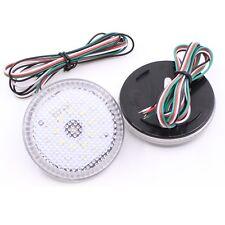68MM Clear Lens LED Rear Bumper Reflector Lamp for Scion Sienna Corolla Qashqai