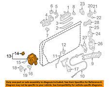 AUDI OEM 08-12 R8 Front Door-Door Lock Kit 4F1837016A