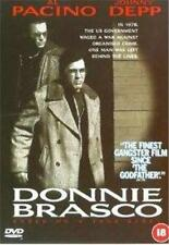 DONNIE BRASCO Mike Newell*Al Pacino*Johnny Depp FBI Gangster Drama DVD *EXC*