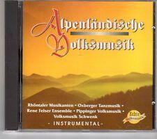 (GK651) Alpenländische Volksmusik - 1994 CD
