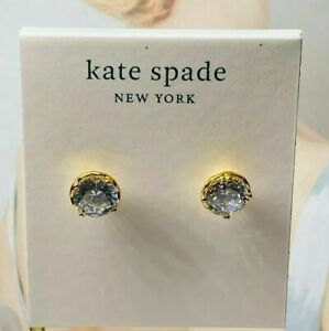 Kate Spade White crystal Earrings Free Shipping