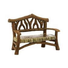 Department 56 Accessories for Village Collections Woodland Bench (4025453)
