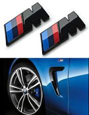 2x Logo M Negro Emblema pour M emblem aufkleber badge M1 M2 M3 M5 M6 X3 X5 X6