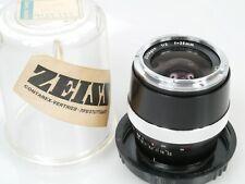 Carl Zeiss Distagon 2/35 35mm 1:2 für for Contarex + Plexi case + cap **ANKAUF**