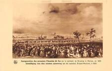 Belgium Inauguration des premiers Chemins de fer, Bruxelles Malines 1835