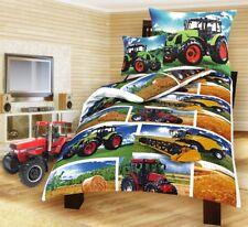 Luxus Bettwäsche  Traktor Trecker  Kombajn 100% Baumwolle NEUHEIT 2018