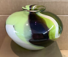 Vintage Art Deco Green Vase