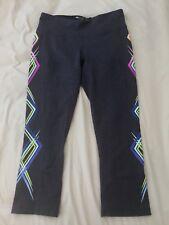 Women Gray Ideology Leggings  Macys $49 Athletic Pants XS
