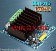 50A Dual-channel H bridge Motor Driver Module for Arduino Robot Servo DC 3-15V
