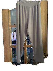 Kim & Co Slim Leg Trousers Petite 2xl Taupe