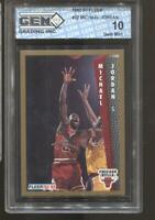 1992-93 Michael Jordan Fleer #32 Gem Mint 10 Chicago Bulls HOF MVP