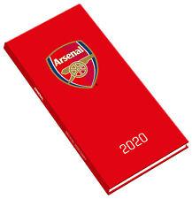 Arsenal Football 2020 Diary - Slim Pocket Week to View Fomat
