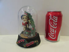 1997 LIMITED EDITION FRANKLIN MINT JINGLE BELL BETTY BOOP FIGURINE SCULPTURE