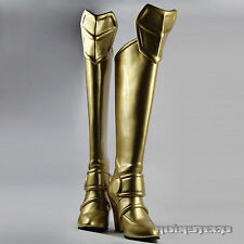 Fate(Extra) Saber(Nero) Shoes/Boots cosplay props