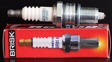 1 Brisk LR12ZC Spark Plug Suzuki TS250ER 250 RMX SMX 50 Yamaha SR250 XS250 XT250