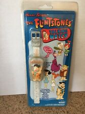 Vintage The Flintstones Fred Talking Watch Hanna Barbera 1994 New!
