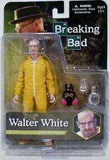 """WALTER WHITE in YELLOW HAZMAT SUIT Breaking Bad 6"""" inch Action Figure Mezco 2015"""
