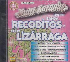 Banda Recoditos Chuy Lizarraga Multi Karaoke Nuevo SEALED